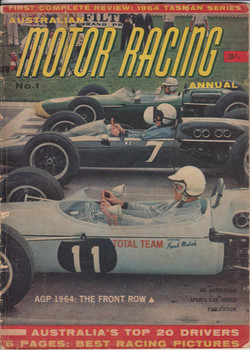 Australian Motor Racing Annual 1964, No 1, First Complete Review, Tasman Series