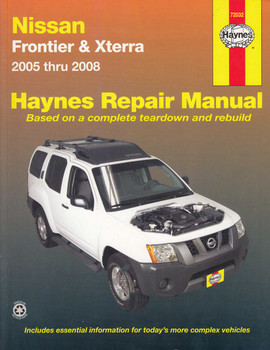 Nissan Frontier, Xterra 2005 - 2008 Workshop Manual (9781563927027)