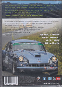 Targa Tasmania 2013 - The Ultimate Tarmac Rally DVD