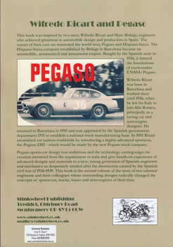 From Hispano-Suiza to Pegaso; trucks, buses and sportscars D (9780954736354)