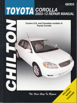 Toyota Corolla 2003 - 2013 Workshop Manual (9781620922477)