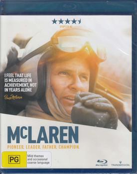McLaren Pioneer, Leader, Father, Champion Bluray