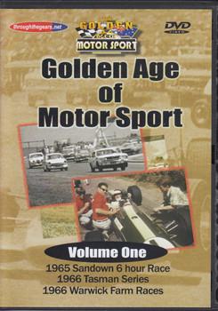 Golden Age of Motorsport (4 DVD Set)