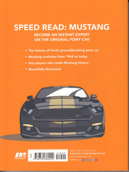 Speed Read Mustang - The History, Design and Culture Behind Fords Original Pony Car