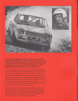 Chris Sclater - Memories of a Rally Champion (signed by the author)