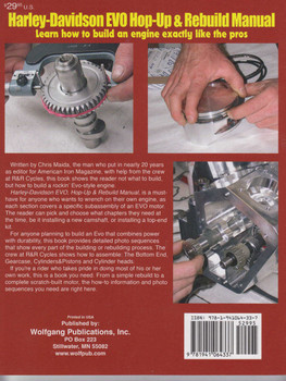 Harley-Davidson EVO - Hop-Up & Rebuild Manual