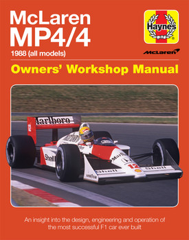 McLaren MP4/4 1988 (all models) Owners Workshop Manual (9781785211379)