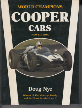 Cooper Cars (Hardcover by Doug Nye, 1986) (9780850458282)