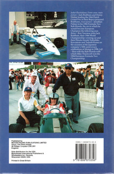 Brabham Ralt Honda The Ron Tauranac Story (Signed)
