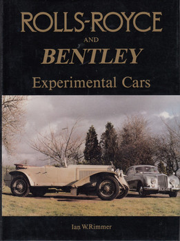 Rolls-Royce and Bentley - Experimental Cars