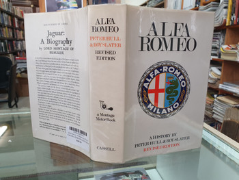Alfa Romeo - A History by Peter Hull & Roy Slater (Revised Edition 1969)