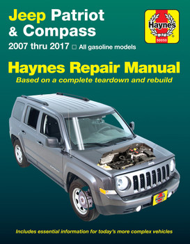 Jeep Patriot & Compass Petrol 2007 - 2017 Workshop Manual