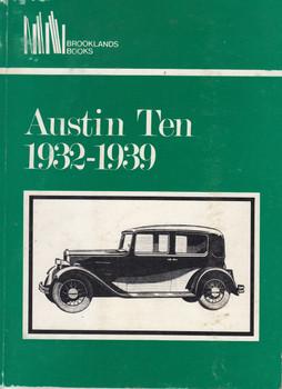Austin Ten 1932 - 1939 (Brooklands Books, Paperback)