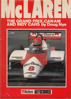 McLaren: Grand Prix, Can-Am and Indy Cars (Oct 1983, hardcover by Doug Nye) (9780905138282)