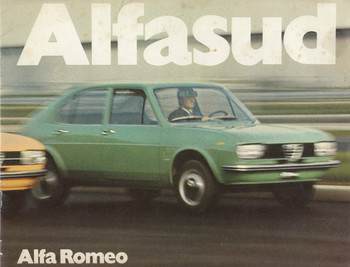 1974 Alfa Romeo Alfasud Brochure English