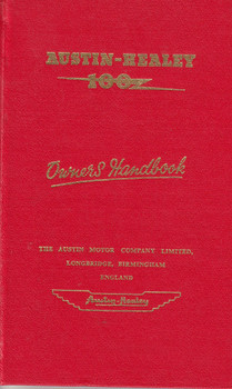 Austin-Healey 100Z Owner's Handbook (1955, Austin-Healey)
