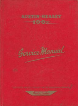 Austin Healy 100 Series BNI Original Service Manual 1959 (Publication Part No. AKD4851) (AKD4851)