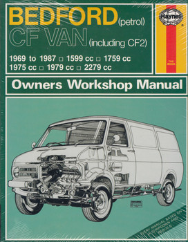 Bedford CF VAN Petrol including CF2 1969 - 1987 Haynes Workshop Manual