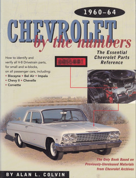 Chevrolet by The Numbers 1960 - 1964 (9780837609362)