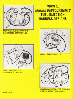 Service manual for Corvette, Camaro, Firebird  LT-1 & Tuned Port Fuel Injection (Howell Engine Developments)