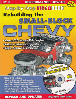 Rebuilding the Small-Block Chevy Video-Book ( Revised and Updated SA116) (9781613251973)