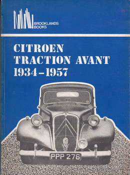 Citroen Traction Avant 1934 - 1957 (Brooklands Books) (0906589126)