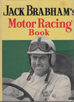Jack Brabham's Motor Racing Book Hardcover 1962 Revised Edition (JBMRB)