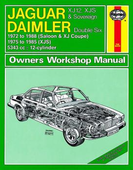 Jaguar XJ12, XJS & Sovereign; Daimler Double Six (1972 - 1988) Haynes Repair Manual