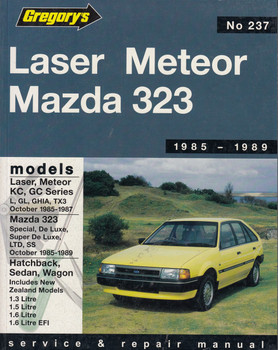 Laser/Meteor Kc/GC (1985-1987), Mazda 323 (1985-1989) Service Repair Manual