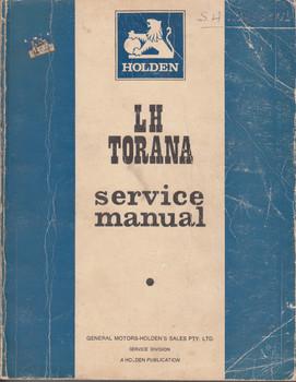 Holden LH Torana Service Manual