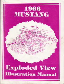 1966 Ford Mustang Exploded View Illustration Manual