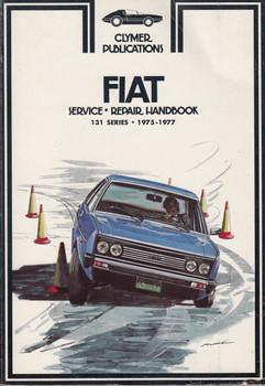 Fiat Service Repair Handbook 131 Series 1975-1977