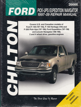 Ford Pickups/Expedition/Navigator 1997-2009 Repair Manual