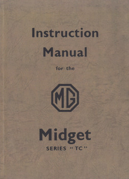 Instruction Manual for the MG MIDGET Series TC (9781855200739)