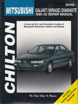 MITSUBISHI GALANT, MIRAGE & DIAMANTE 1990-2000 CHILTON REPAIR MANUAL