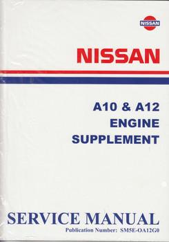 Nissan A10 & A12 Engine Supplement Service Manual