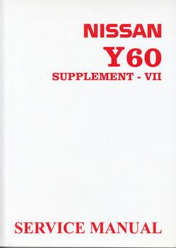 Nissan Patrol Y60 Supplement - VII