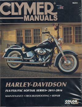 Clymer's Harley Davidson Workshop Manual FLS/FXS/FXC Softail Series 2011-2016