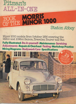 Morris Minor 1000 Pitman's All In One Book