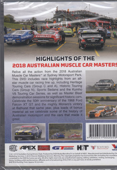 2018 Australian Muscle Car Masters DVD