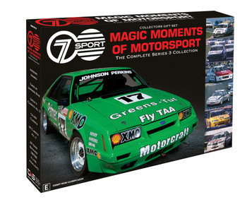 Sevens Magic Moments of Motorsport – Collectors Gift Set - The Complete Series 3 DVD Collection