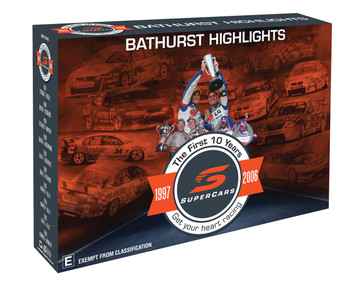 Bathurst Highlights The First Ten Years 1997 to 2006 DVD Set