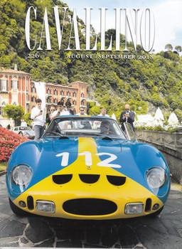 Cavallino The Journal Of Ferrari History Number 226 Aug 2018 / Sept 2018