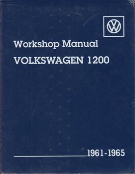 Volkswagen 1200 Workshop Manual 1961-1965 Type 11, 14, 15 (Paperback)