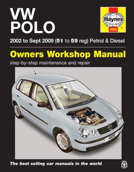 VW Polo Petrol & Diesel (2002 - Sept 2009) Haynes Repair Manual