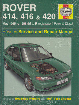 Rover 414, 416 & 420 Petrol & Diesel (May 1995 - 1998) (M to R reg) Haynes Repair Manual