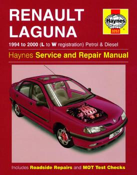 Renault Laguna Petrol & Diesel (1994 - 2000) (L to W reg) Haynes Repair Manual