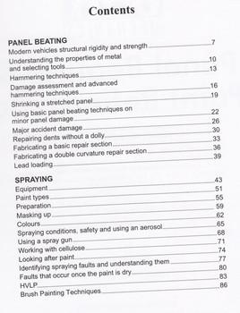 Panel Beating & Paint Refinishing (Car Mechanics)