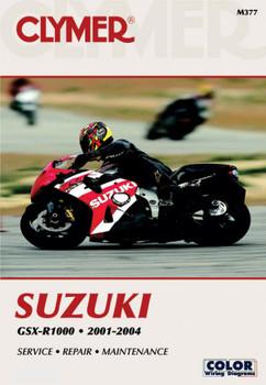 CLYMER MANUALS SUZUKI GSX-R1000 2001-2004 M377
