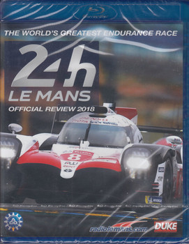 Le Mans 24 Hours 2018 Official Review Bluray (5017559131340)